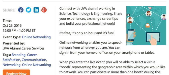 Virtual Networking – Science, Technology & Engineering