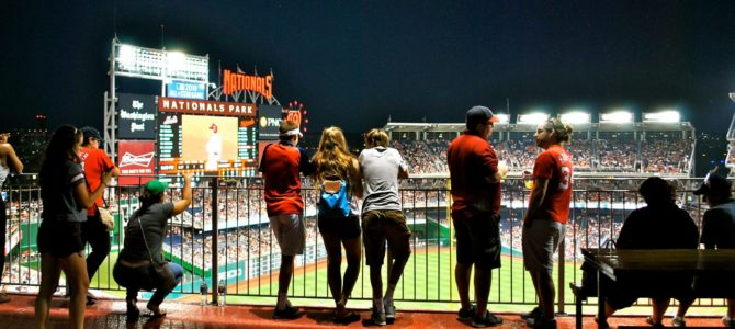 University of Virginia Day at Nationals Park